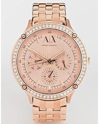 Reloj Dorado de Armani Exchange