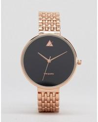 Reloj dorado de Asos