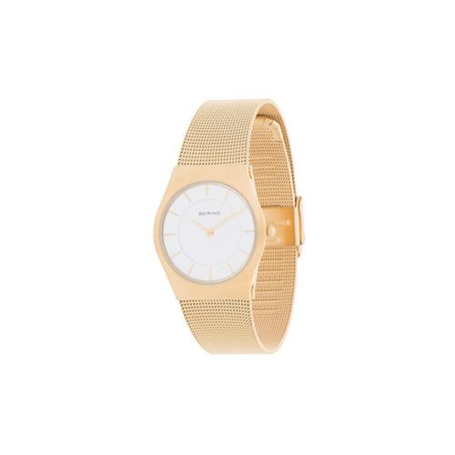 Reloj dorado de Bering