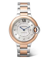 Reloj dorado de Cartier