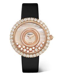 Reloj dorado de Chopard