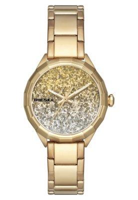 Reloj Dorado de Diesel