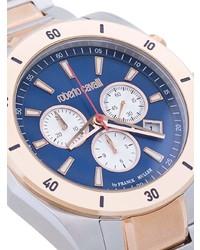 Reloj dorado de Roberto Cavalli
