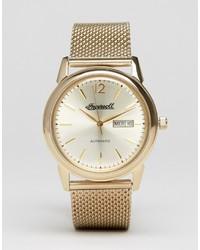 Reloj dorado de Ingersoll