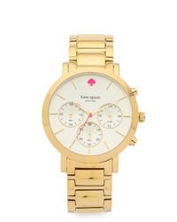 Reloj Dorado de Kate Spade