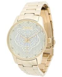 Reloj dorado de Kenzo