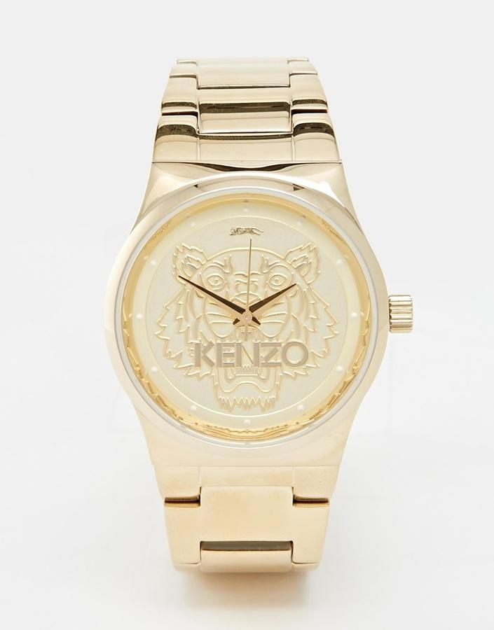 De Dorado Kenzo€396Asos Lookastic España Reloj KTJ3lF1c