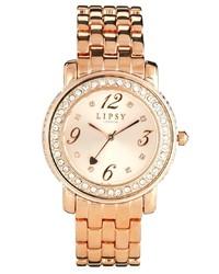 Reloj dorado de Lipsy