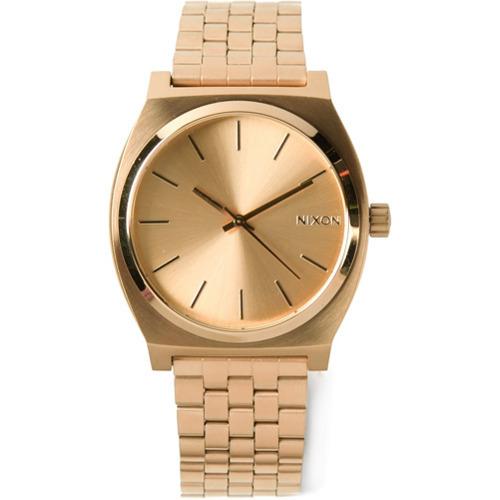 Reloj dorado de Nixon
