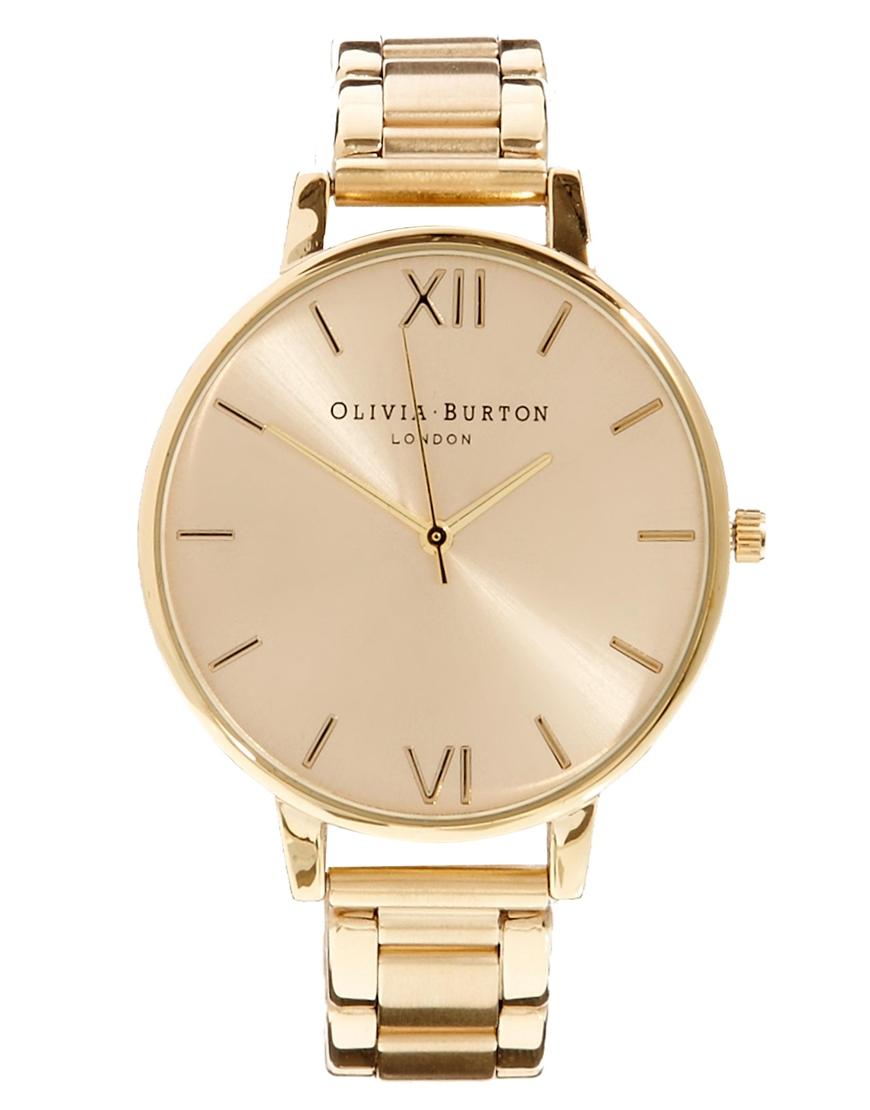 Reloj Dorado de Olivia Burton