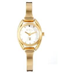Reloj dorado de Owl