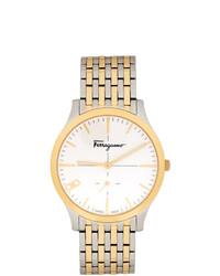 Reloj dorado de Salvatore Ferragamo