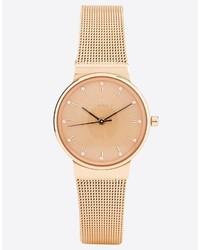 Reloj dorado de Skagen