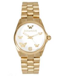 Reloj dorado de Zadig & Voltaire
