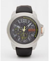 Reloj en gris oscuro de Boss Orange
