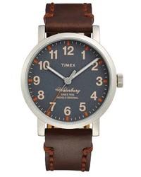 Reloj en marrón oscuro