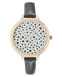 Reloj Estampado Negro de New Look
