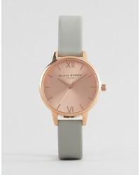 Reloj gris de Olivia Burton