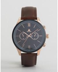 Reloj marrón de Asos