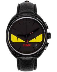 Reloj negro de Fendi