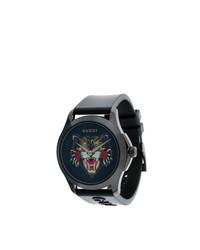 Reloj negro de Gucci