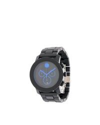 Reloj negro de Movado