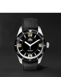 Reloj negro de Oris