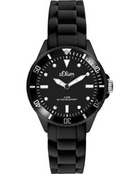 Reloj Negro de s.Oliver
