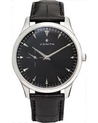 Reloj negro de Zenith
