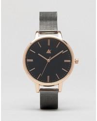 Reloj plateado de Asos