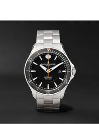 Reloj plateado de Baume & Mercier