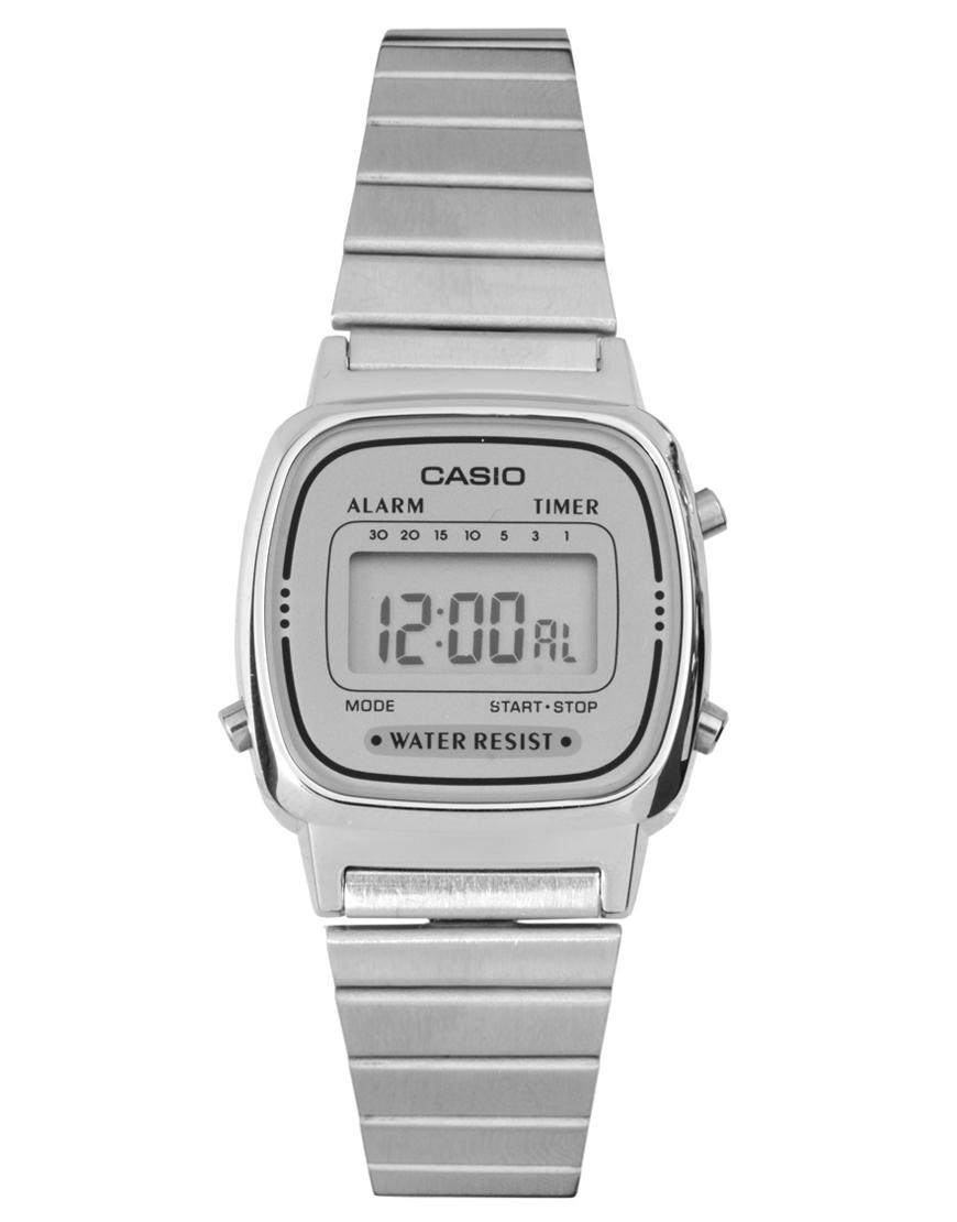 67fe91c14497 ... Reloj plateado de Casio