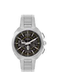 Reloj plateado de Fendi