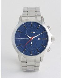Reloj plateado de French Connection