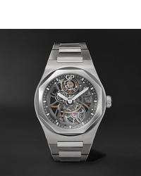 Reloj plateado de Girard Perregaux
