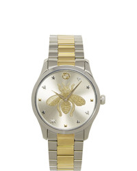 Reloj plateado de Gucci