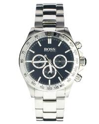 Reloj plateado de Hugo Boss