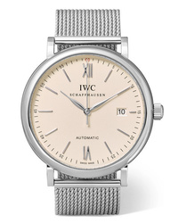Reloj plateado de IWC SCHAFFHAUSEN