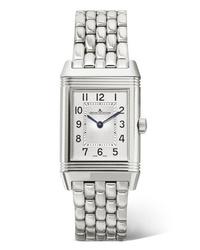 Reloj plateado de Jaeger-LeCoultre