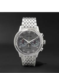 Reloj plateado de Junghans