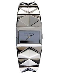Reloj plateado de Karl Lagerfeld