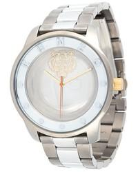 Reloj plateado de Kenzo