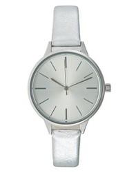 Reloj Plateado de KIOMI