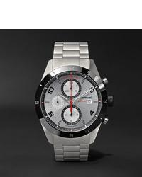 Reloj plateado de Montblanc