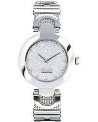 Reloj plateado de Moschino Cheap & Chic