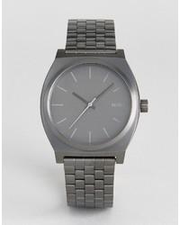 Reloj Plateado de Nixon