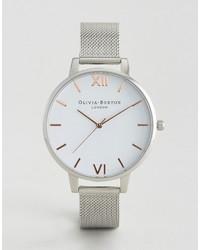 Reloj Plateado de Olivia Burton