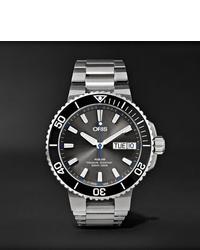 Reloj plateado de Oris