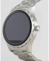 Reloj plateado de Fossil