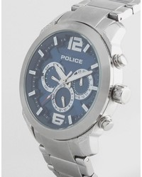 Reloj plateado de Police